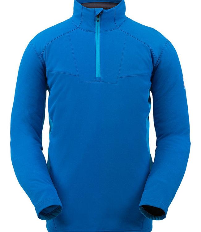Spyder Men's Ascender Light Quarter Zip Fleece Jacket