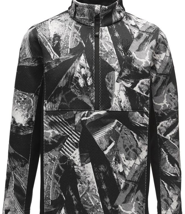 Spyder Boy's Encore Half Zip Fleece Jacket