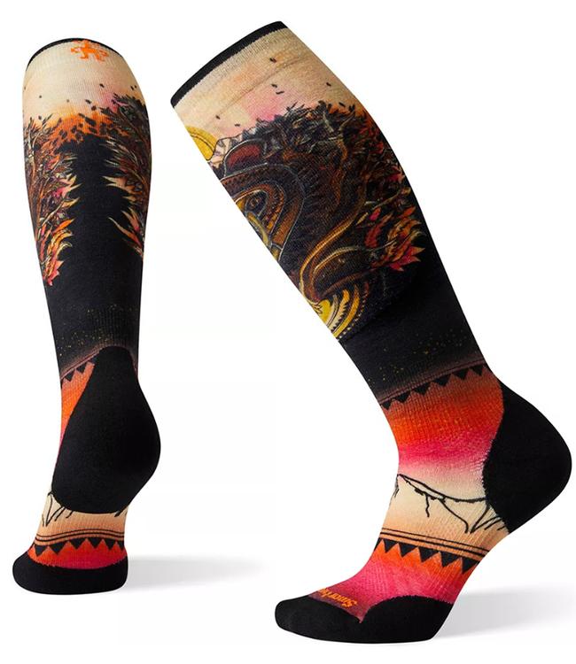 Smartwool Women's PhD® Ski Light Elite Print Socks
