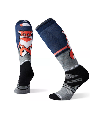 Smartwool Women's PhD® Ski Medium Fox Pattern Socks