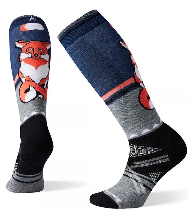 Smartwool Women's PhD® Ski Medium Fox Pattern Socks