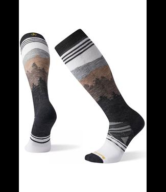 Smartwool PhD® Ski Medium Alpenglow Pattern Socks