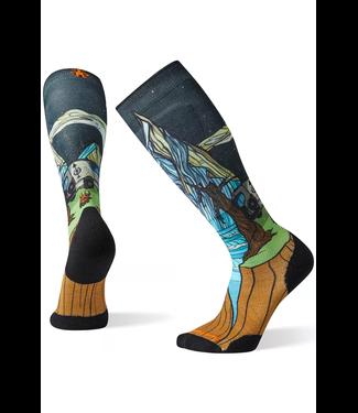 Smartwool PhD® Ski Light Elite Benchetler Print Socks