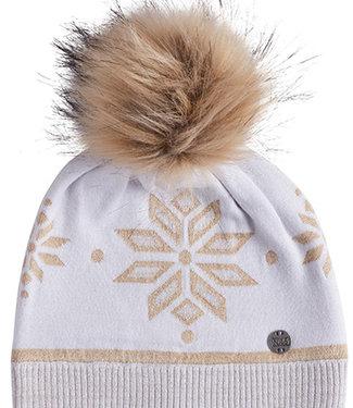 Nils Women's Snowflake Knit Hat