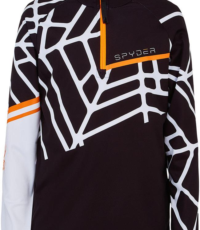 Spyder Boy's Hideout Zip T-Neck