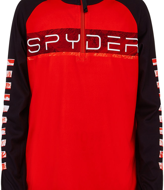 Spyder Boy's Peak Zip T-Neck
