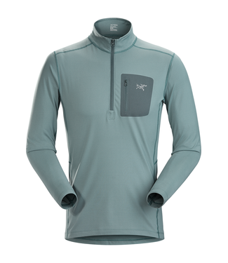 Arc'Teryx MEN'S RHO LT ZIP NECK