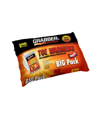 Grabber 8 Pack Toe Warmer
