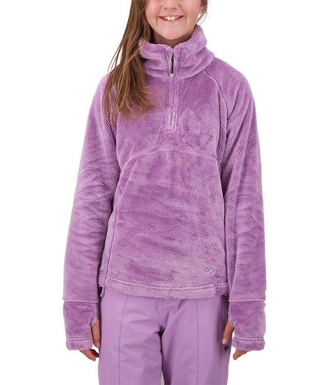 Obermeyer Girl's Furry Fleece Top