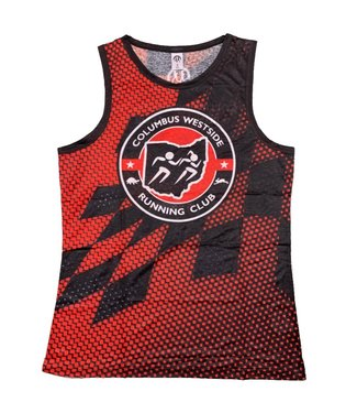 PRACTICS Men's Columbus Westside Running Club Singlet