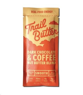 TRAIL BUTTER Trail Butter: 1.5oz Dark Chocolate + Coffee