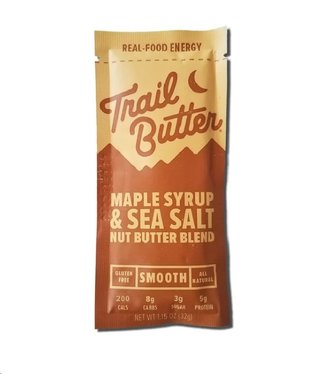 TRAIL BUTTER Trail Butter: 1.15oz Maple Syrup + Sea Salt