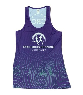 PRACTICS Women's CRC AT Singlet (Pickerington Colors)
