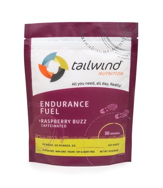 TAILWIND Tailwind Caffeinated Endurance Fuel, Raspberry Buzz / 30 serving packet