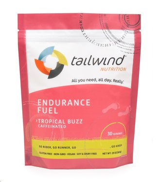 TAILWIND Tailwind Caffeinated Endurance Fuel, Tropical Buzz / 30 serving packet