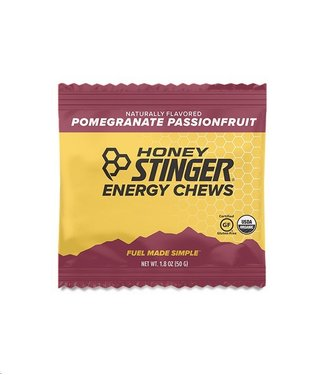 HONEY STINGER Honey Stinger Energy Chews: Pomegranate Passionfruit
