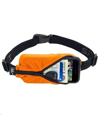 SPIBELT SpiBelt: Orange Fabric/Black Zipper
