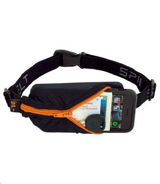 SPIBELT SpiBelt: Black Fabric/Orange Zipper