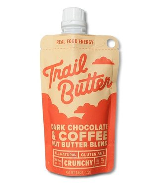 TRAIL BUTTER Trail Butter: 4.5oz Dark Chocolate + Coffee