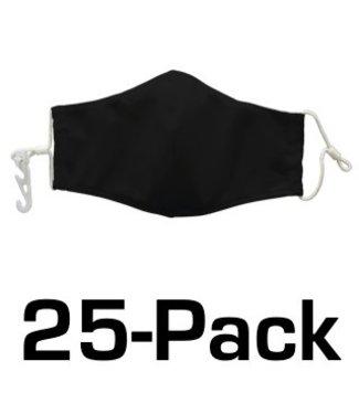 NATIONAL FACEWEAR National Facewear MASK: 25-PACK
