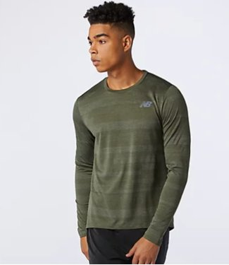NEW BALANCE New Balance Men's Q SPEED FUEL JACQUARD LS