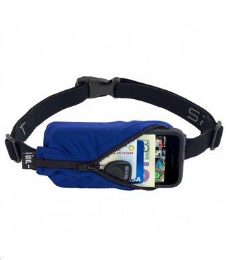 SPIBELT SpiBelt: Blue Fabric/Black Zipper