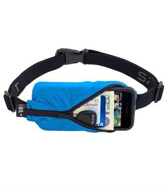 SPIBELT SpiBelt: Turquoise Fabric/Black Zipper