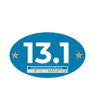 Columbus Marathon Columbus Marathon 13.1 Decal