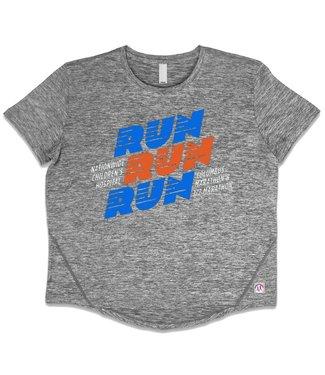 SKY Columbus Marathon Women's Run Run Run Athletic Tee