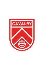 "Sports Vault Cavalry FC 4"" Car Sticker"