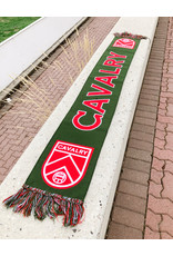 Ultimate Sports Cavalry FC Red/Green Scarf