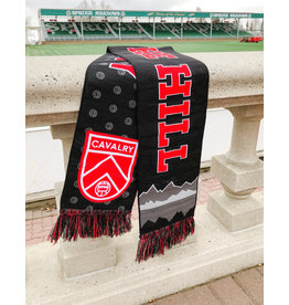 Ultimate Sports Cavalry FC Black/Grey Scarf