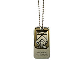 Sports Vault Cavalry FC Dog Tag