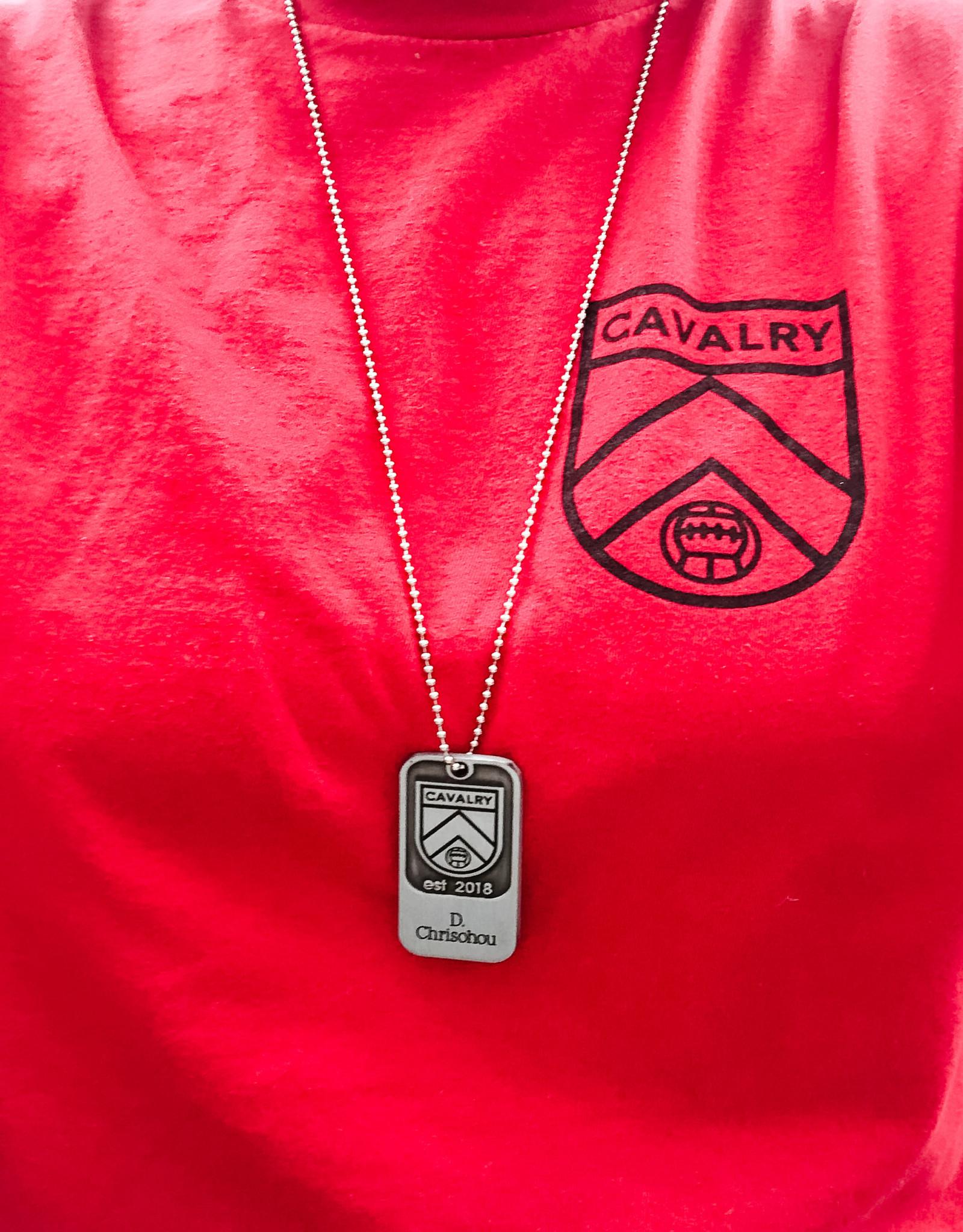Sports Vault Cavalry FC Dog Tag