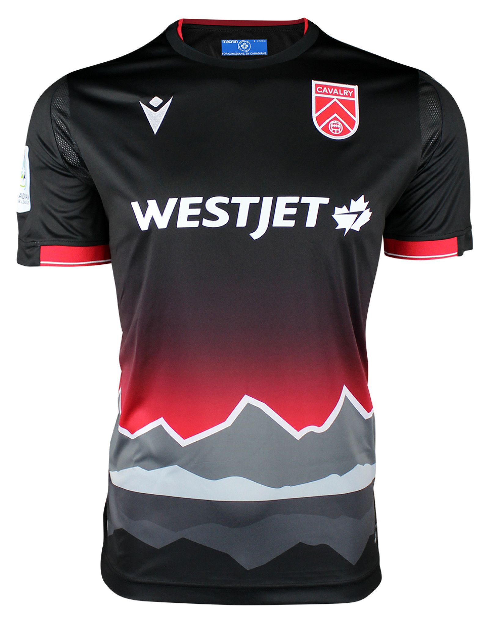 Macron 2020 Official Cavalry FC Away Adult Jersey