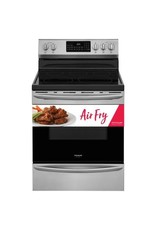 FRIGIDAIRE GCRE3060A 5.7 cu. ft. Electric Range with True Convection Self-Cleaning Oven in Stainless Steel with Air Fry