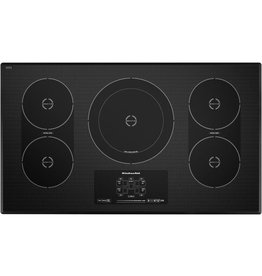 """KICU569XBL Cooktops - 30"""" ELECTRIC INDUCTION, CERAMIC GLASS, T"""