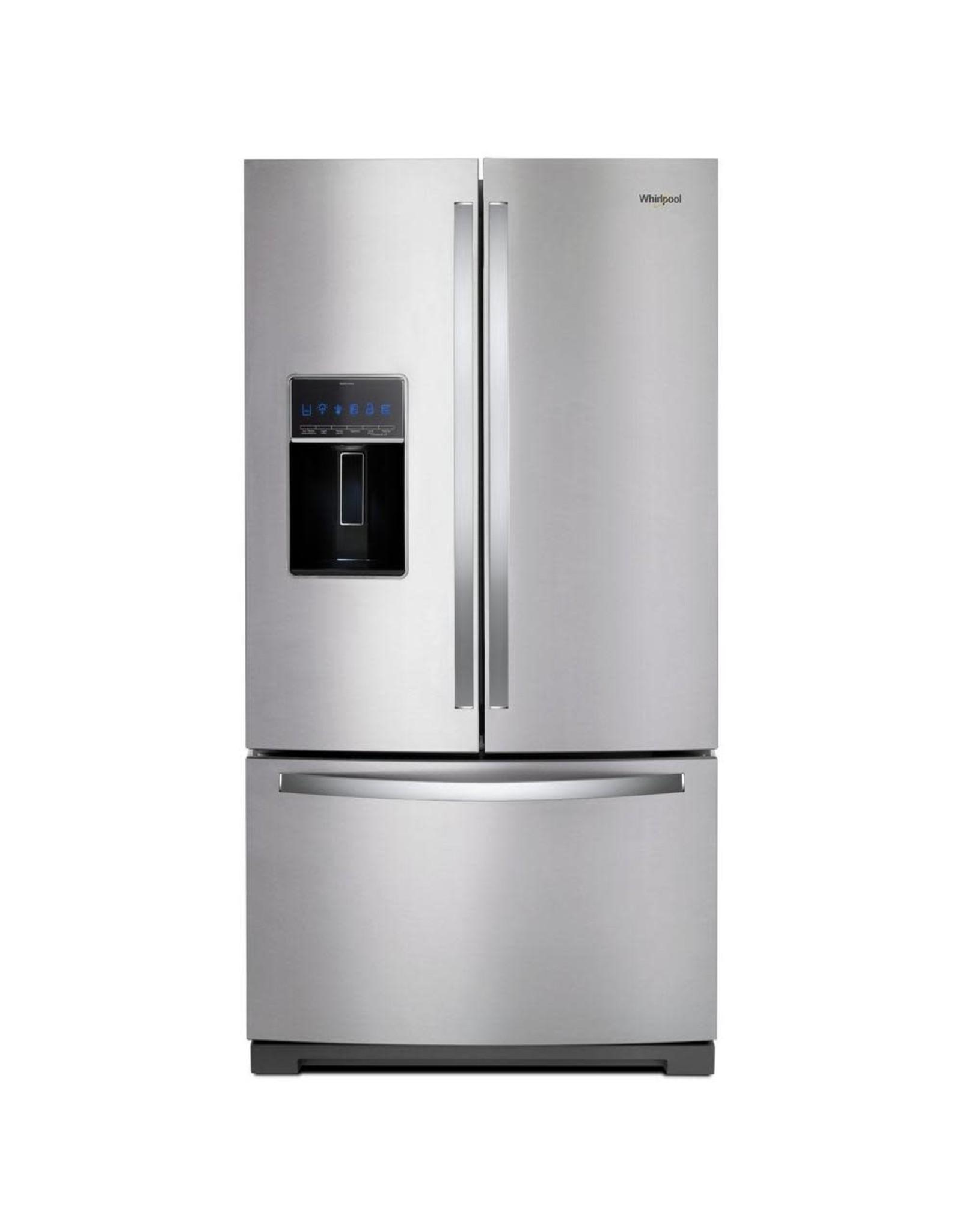 WHIRLPOOL WRF757SDHZ 27 cu. ft. French Door Refrigerator in Fingerprint Resistant Stainless Steel
