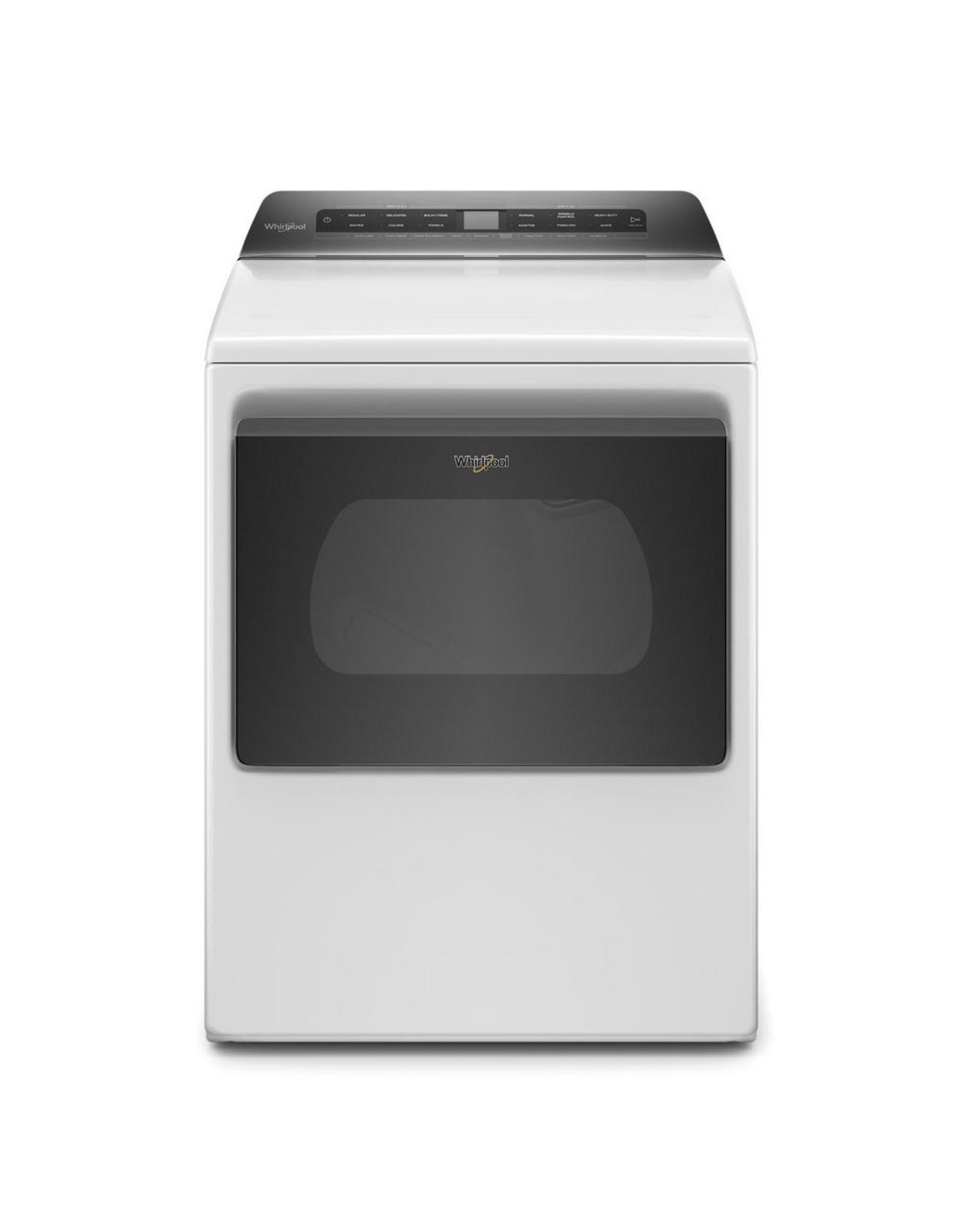WHIRLPOOL WED5100HW Whirlpool 7.4 cu. ft. White Front Load Electric Dryer with AccuDry System