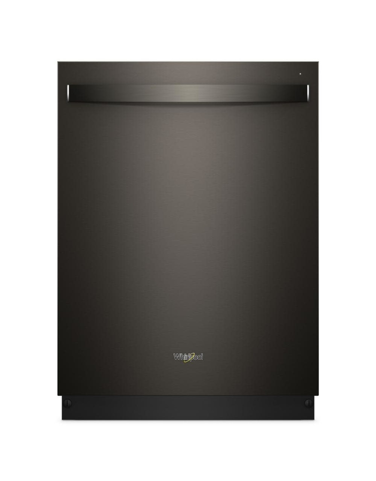 WHIRLPOOL WDT750SAHV  Top Control Built-In Tall Tub Dishwasher in Fingerprint Resistant Black Stainless with Stainless Steel Tub, 47 dBA