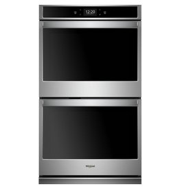 "WOD77EC0HS WHR Ovens - Built-in - Food Prep - 30"" DOUBLE WALL OVEN, UPPER & LOWE"