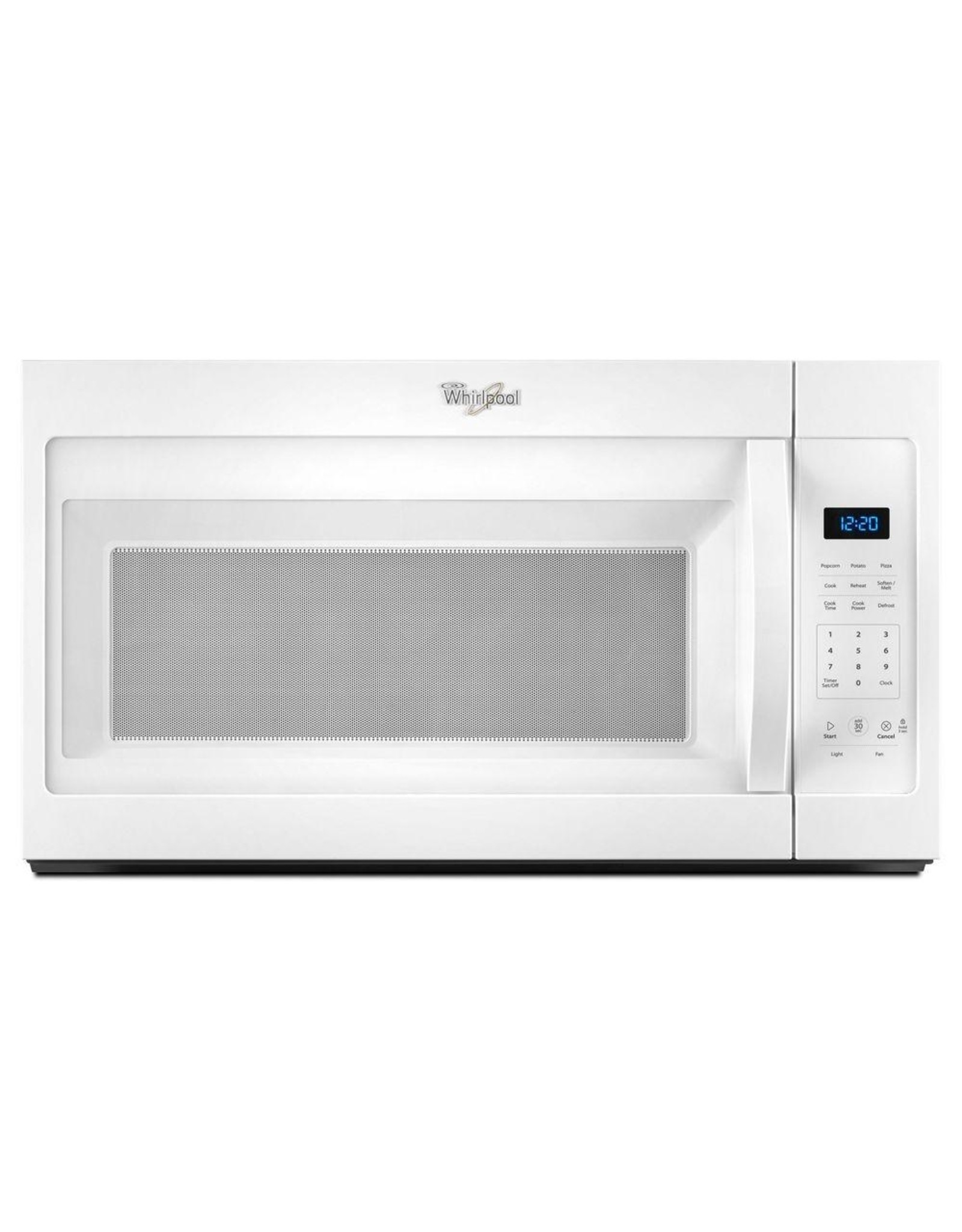 WHIRLPOOL WMH31017FW  WHR Microwave, Hood, Combination - 1.7 CU FT, 1000 WATTS, 2-PIECE FRONT, ST