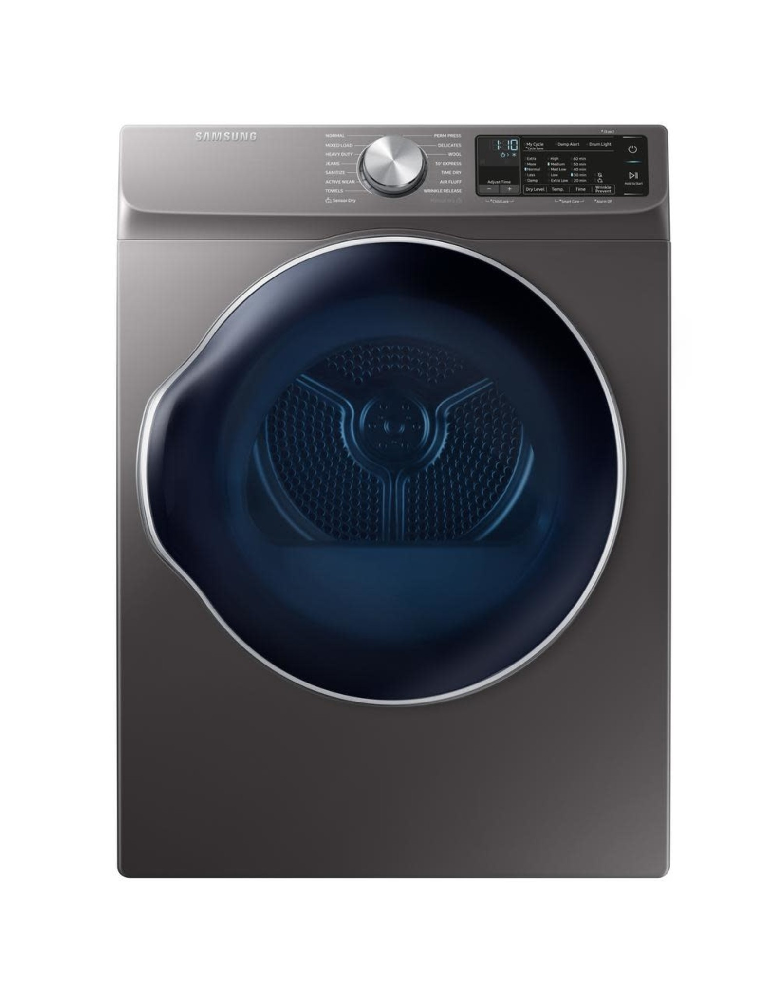 SAMSUNG DVE22N6850X  Samsung 4.0 cu. ft. Electric Vented Dryer in Gray