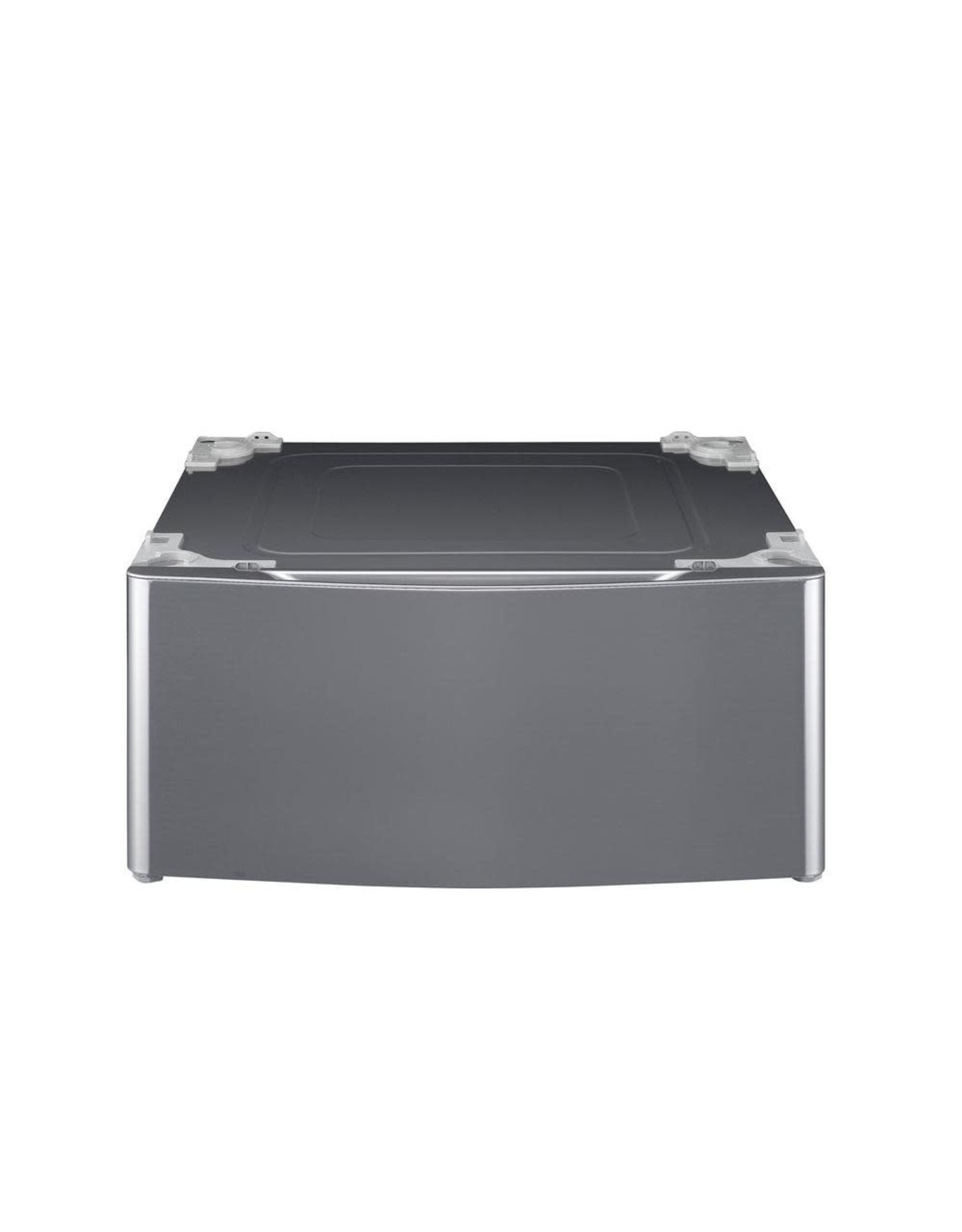 LG Electronics 29 in. Laundry Pedestal with Storage Drawer for Washers and Dryers in Graphite Steel
