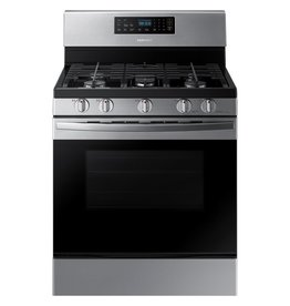 SAMSUNG NX58R4311SS Samsung 30 in. 5.8 cu. ft. Gas Range with Self-Cleaning Oven in Stainless Steel