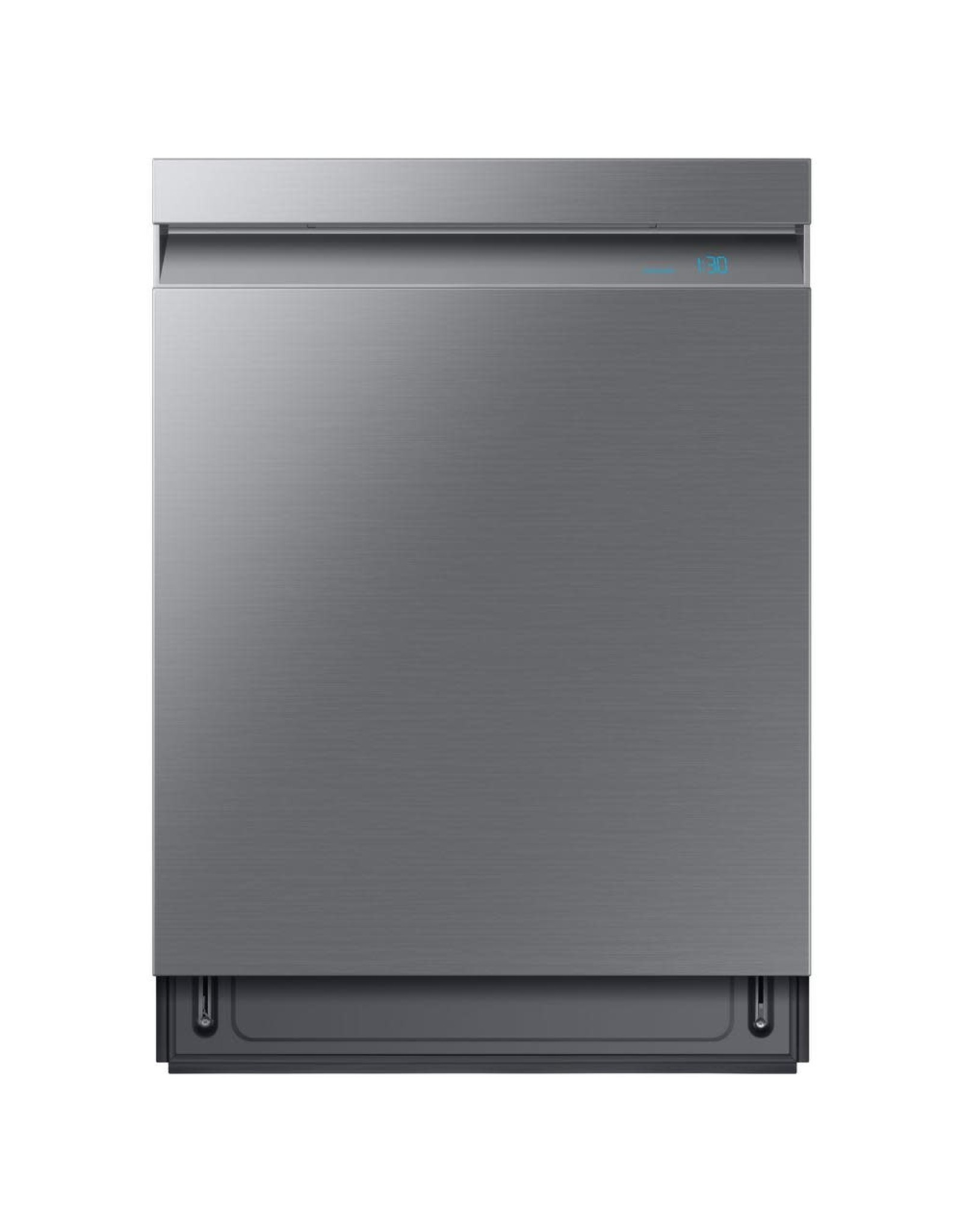 SAMSUNG DW80R9950US Samsung 24 in. Top Control Tall Tub Linear Wash Dishwasher in Fingerprint Resistant Stainless, 3rd Rack, AutoRelease, 39 dBA