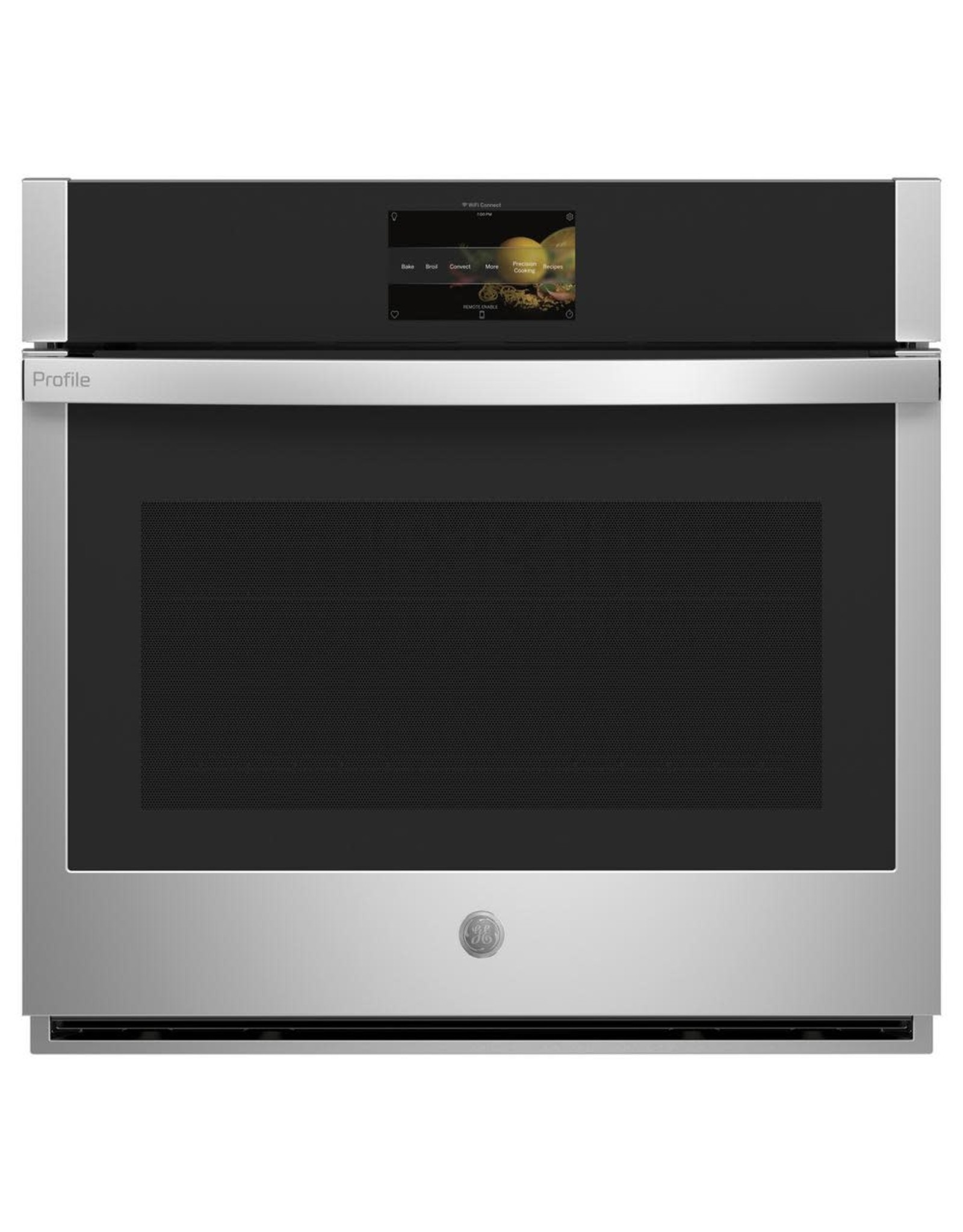 GE PTS7000SNSS Profile 30 in. Smart Single Electric Wall Oven with Convection Self-Cleaning in Stainless Steel