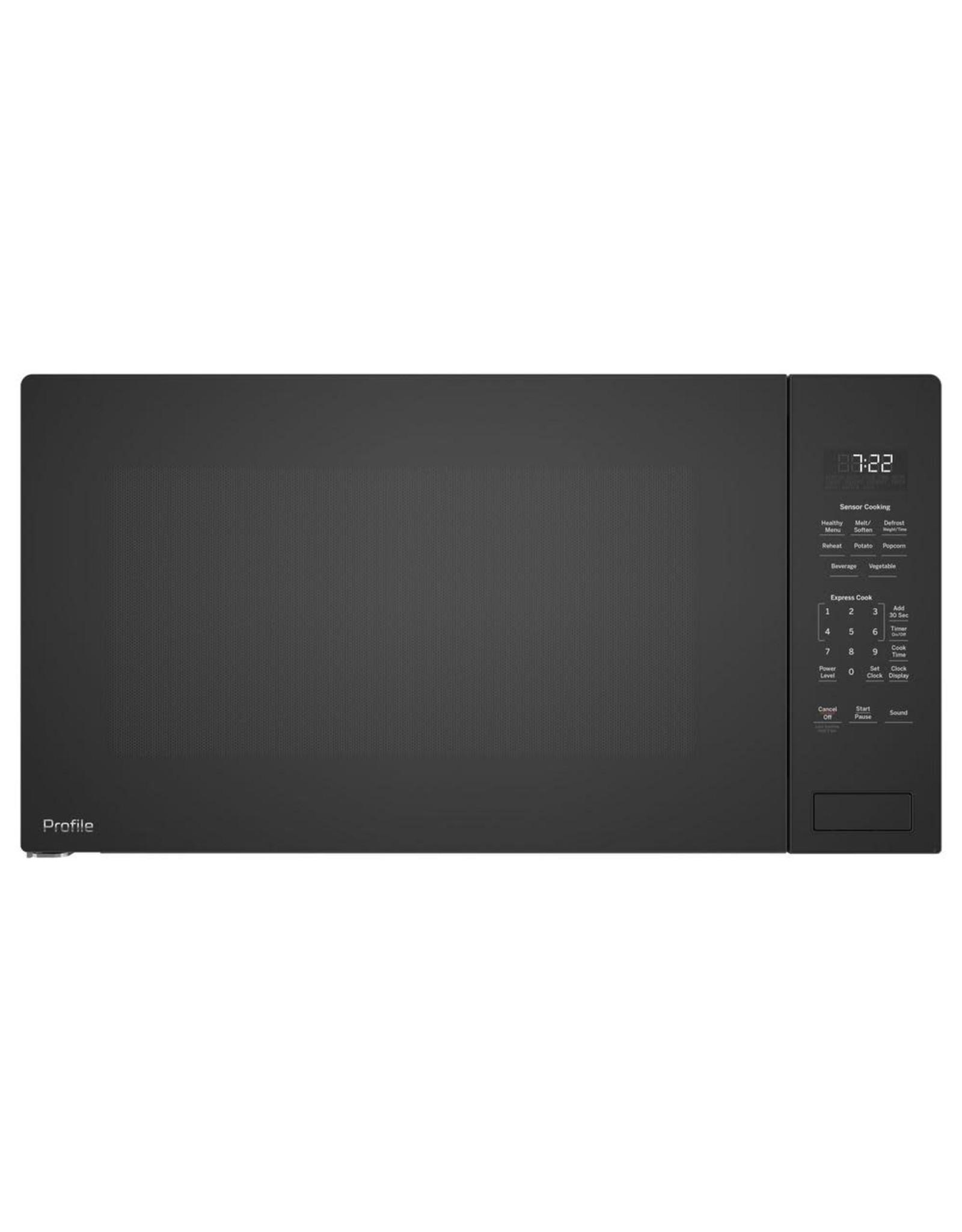 GE PROFILE PEB7227DLBB Profile 2.2 cu. ft. Countertop Microwave in Black with Sensor Cooking