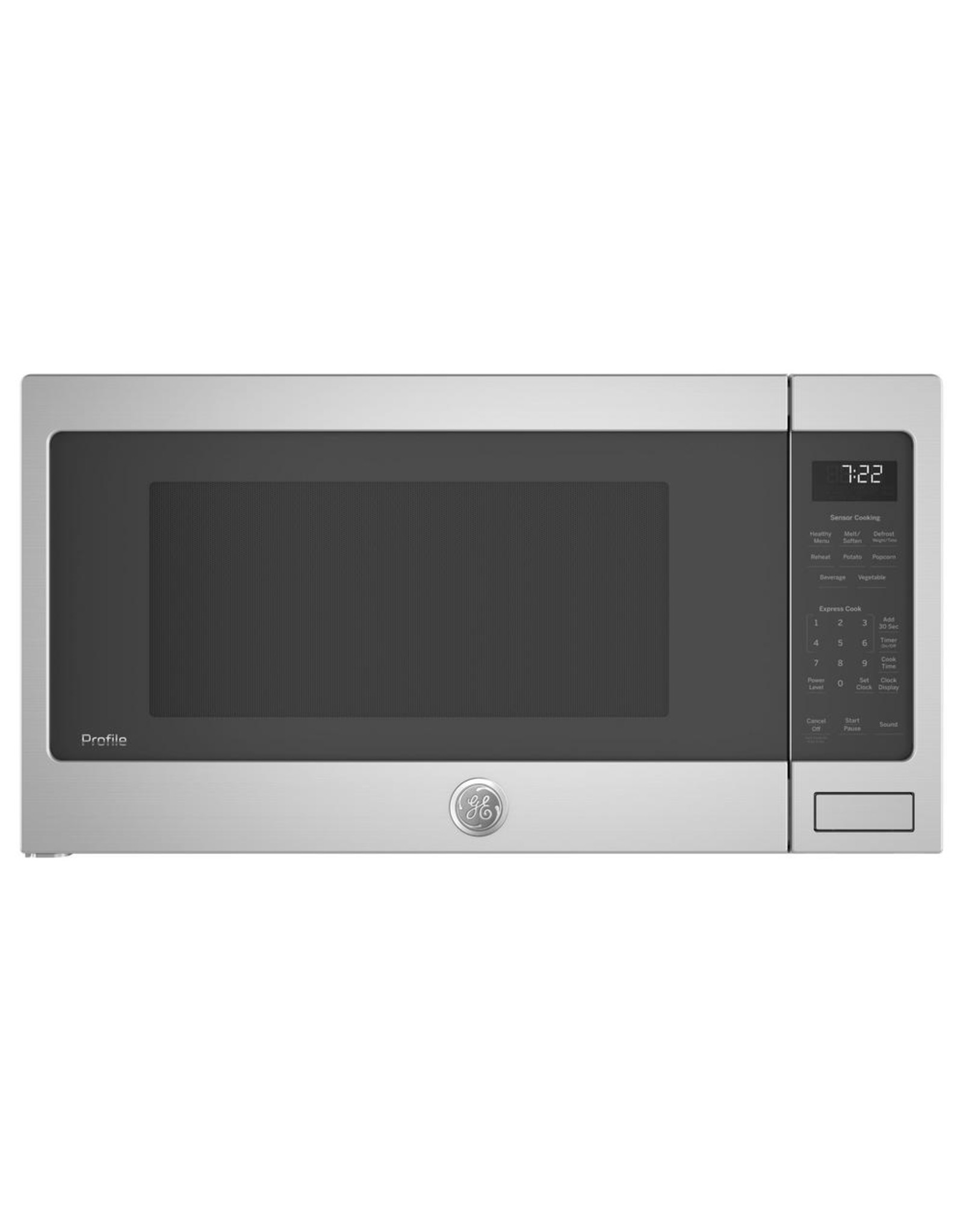 GE PROFILE PES7227SLSS  GE Profile 2.2 cu. ft. Countertop Microwave in Stainless Steel with Sensor Cooking
