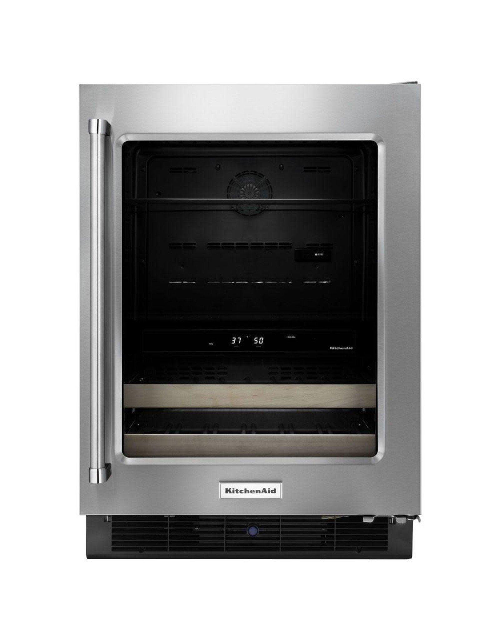 KUBR204ESB KAD Licensed Free Standing Refrigerator - 6 CU FT, 14 BOTTLES, DUAL ZONE, PROXIMIT